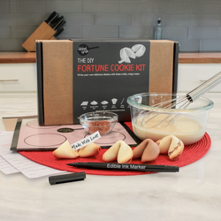 DIY fortune cookie cooking kit