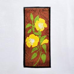 fair trade batik godawari floral wall art from nepal
