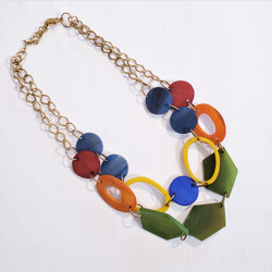 fair trade bone necklace from India