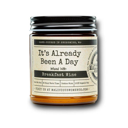 malicious women it's already been a day soy candle in a jar