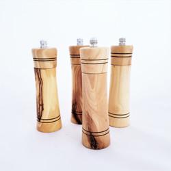 fair trade salt or pepper spice grinder from West Bank