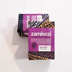 fair trade all natural lavender soap from Zambia