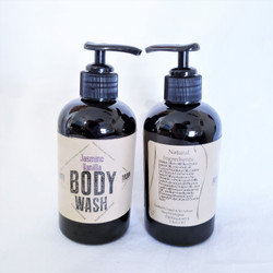 all natural hand made goat milk body wash