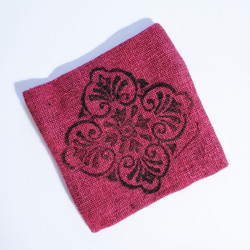 Fair Trade Woven Cotton Zip Top Coin Purse from Nepal