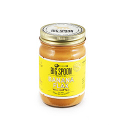 Banana flax peanut butter for dogs