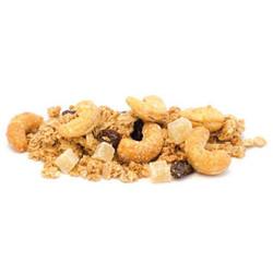 organic maple ginger cashew granola