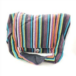 Fair Trade Woven Cotton Messenger Bag from Nepal