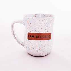 Fair trade ceramic blessed mug from Haiti