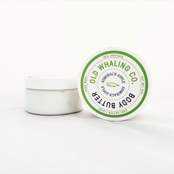 Hand made Admiral's Apple pthalate free body butter