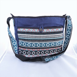 Fair Trade Woven Cotton Gyari Shoulder Bag from Nepal
