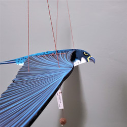 Fair Trade Flying Peregrine Falcon Mobile from Colombia