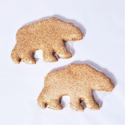 All natural peanut butter dog biscuit made in usa