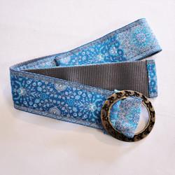 Fair Trade Woven Fabric Adjustable Belt from Turkey