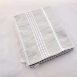 fair trade hand loomed cotton bath towel from Turkey