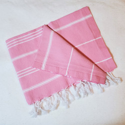 fair trade hand loomed cotton tea towel from Turkey