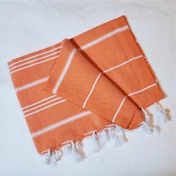 fair trade hand loomed cotton tea towel from Turkey