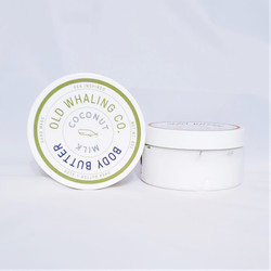old whaling coconut milk body butter