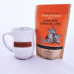 fair trade ashwagandha infused drinking chocolate