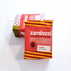 fair trade hand crafted cassia soap from Zambia