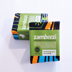 fair trade crafted lemongrass soap from Zambia