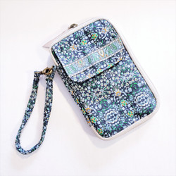 Fair trade fabric phone case wallet wristlet  from Turkey