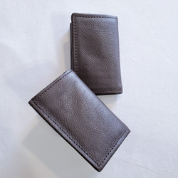 Fair trade leather trifold wallet from Nepal