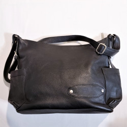 Fair trade leather purse from Nepal
