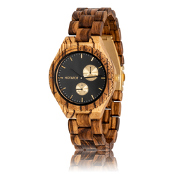Fair trade chronos wood watch from Netherlands