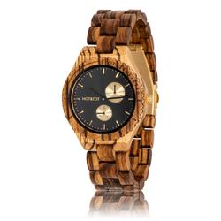 Fair trade chronos wood watch from Netherlands