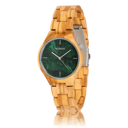 fair trade Volea wood watch from Netherlands