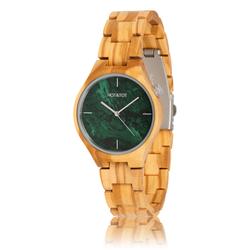 fair trade Volea wood watch from Netherlands
