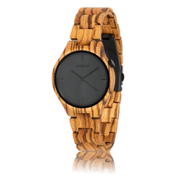 fair trade yuca wood watch from Netherlands