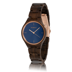 fair trade bixie wood watch from Netherlands