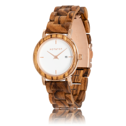 Fair trade Eos wood watch from Netherlands