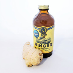 portland syrup ginger drink mixer