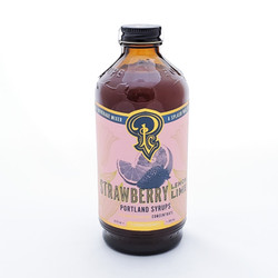 portland syrups strawberry lemon lime drink mixer