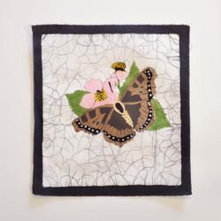 Fair trade batik butterfly wall art from Nepal