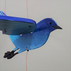 Fair Trade Flying Bluebird Mobile from Colombia