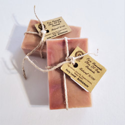 fair trade floral scented olive oil soap from Palestine