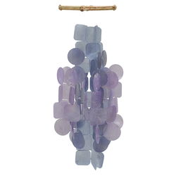 Fair Trade Capiz Shell Hanging Wind Chime from Java