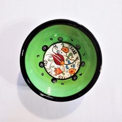 fair trade hand painted ceramic mini bowl from Turkey