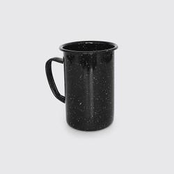 fair trade porcelain enamel steel mug from Mexico