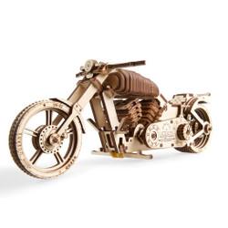 UGears mechanical model motorcycle kit from Ukraine
