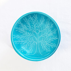 fair trade carved soapstone tree of life bowl from kenya