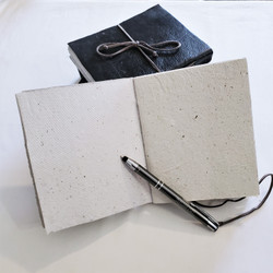 fair trade leather bound journal from Haiti