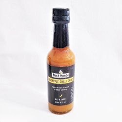 Fair trade pineapple chili sauce from Swaziland