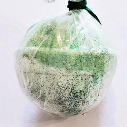 Lime Twist scented bath bomb