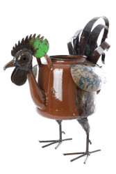 Fair Trade Recycled Metal Rooster Sculpture from Zimbabwe