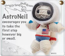Astroneil fair trade string doll keyring from Thailand