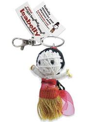 Isabelly fair trade string doll keyring from Thailand